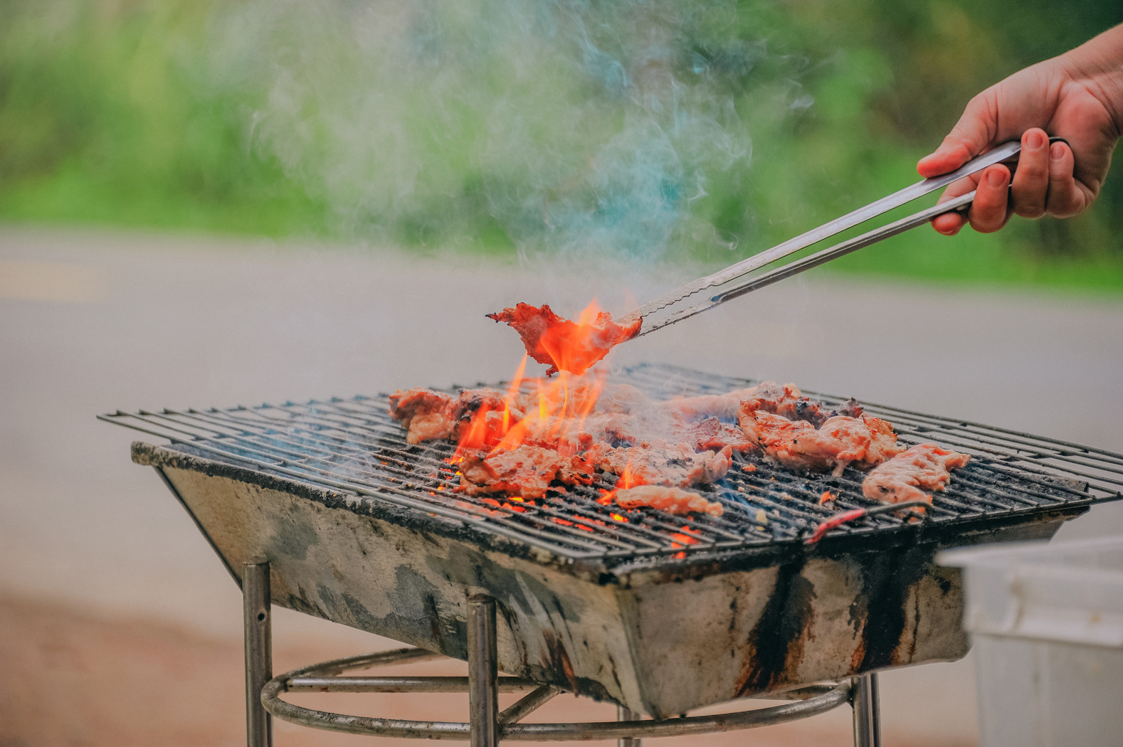 Food barbecue grilling outdoor grill