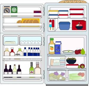 Portable Fridges Vector