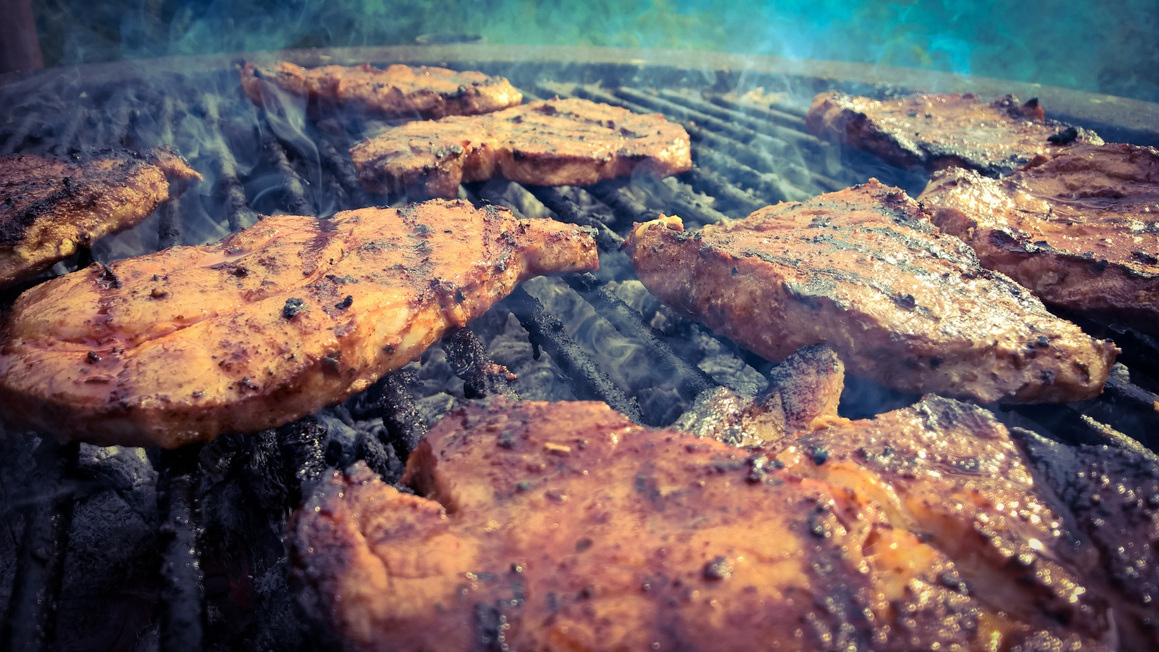 Smoke summer dish food bbq